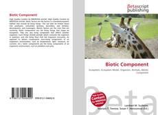 Copertina di Biotic Component