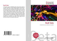Bookcover of Rudi Vata