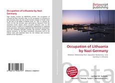 Bookcover of Occupation of Lithuania by Nazi Germany