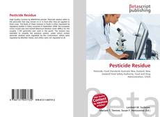 Bookcover of Pesticide Residue
