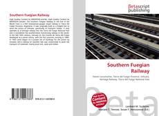 Portada del libro de Southern Fuegian Railway