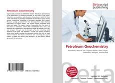Обложка Petroleum Geochemistry