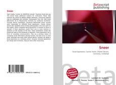 Sneer kitap kapağı