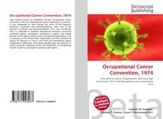Capa do livro de Occupational Cancer Convention, 1974