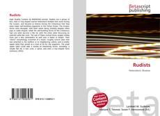 Bookcover of Rudists