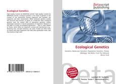 Capa do livro de Ecological Genetics