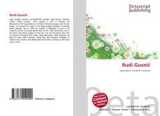 Bookcover of Rudi Gusnić