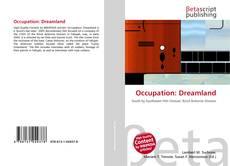 Capa do livro de Occupation: Dreamland