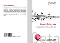 Portada del libro de Robbie Robertson