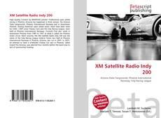 XM Satellite Radio Indy 200的封面