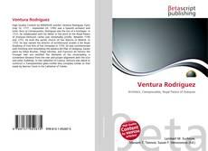 Capa do livro de Ventura Rodríguez