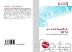 Veronica Campbell- Brown的封面