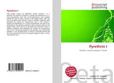 Bookcover of Pyrethrin I
