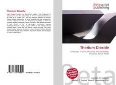 Bookcover of Thorium Dioxide