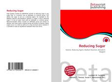 Buchcover von Reducing Sugar