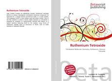 Bookcover of Ruthenium Tetroxide