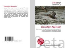 Bookcover of Ecosystem Approach