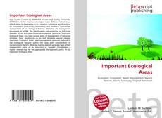 Borítókép a  Important Ecological Areas - hoz