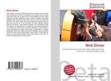 Buchcover von Nick Zinner