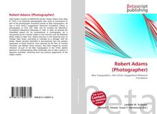 Robert Adams (Photographer)的封面