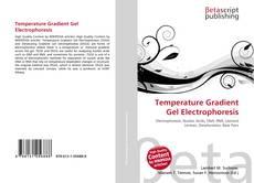 Temperature Gradient Gel Electrophoresis kitap kapağı