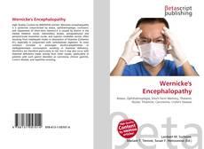 Buchcover von Wernicke's Encephalopathy