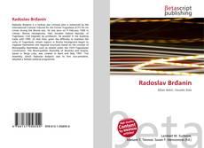 Radoslav Brđanin kitap kapağı