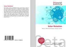 Обложка Solar Rotation