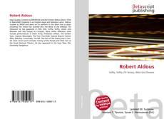 Bookcover of Robert Aldous