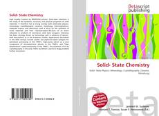Bookcover of Solid- State Chemistry