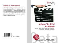 Portada del libro de Voltron: The Third Dimension