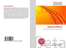 Portada del libro de Solvent Effects