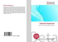 Portada del libro de Solvent Exposure