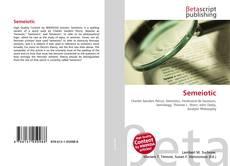 Bookcover of Semeiotic