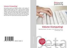 Portada del libro de Volume (Computing)