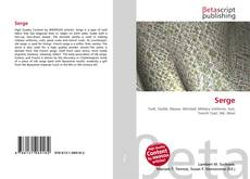 Bookcover of Serge