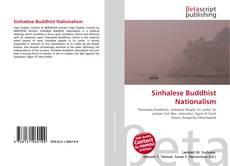 Обложка Sinhalese Buddhist Nationalism