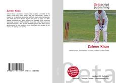 Capa do livro de Zaheer Khan