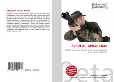 Capa do livro de Zahid Ali Akbar Khan