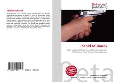 Capa do livro de Zahid Mubarek