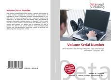 Volume Serial Number的封面