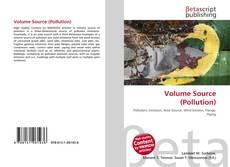 Copertina di Volume Source (Pollution)
