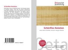 Couverture de Schönflies Notation