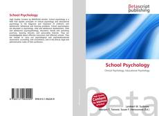 School Psychology kitap kapağı