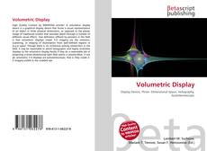 Buchcover von Volumetric Display