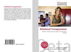 Buchcover von Relational Transgressions