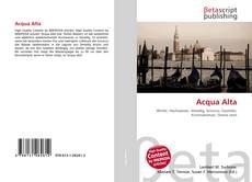 Bookcover of Acqua Alta