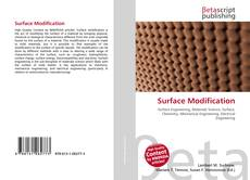 Portada del libro de Surface Modification