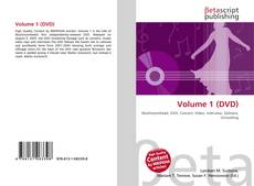 Bookcover of Volume 1 (DVD)