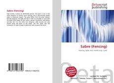 Bookcover of Sabre (Fencing)